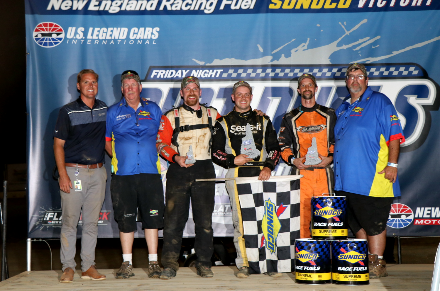 Seth Carlson Etches Name in History Books as First Time Winner at New Hampshire Motor Speedway Dirt Track