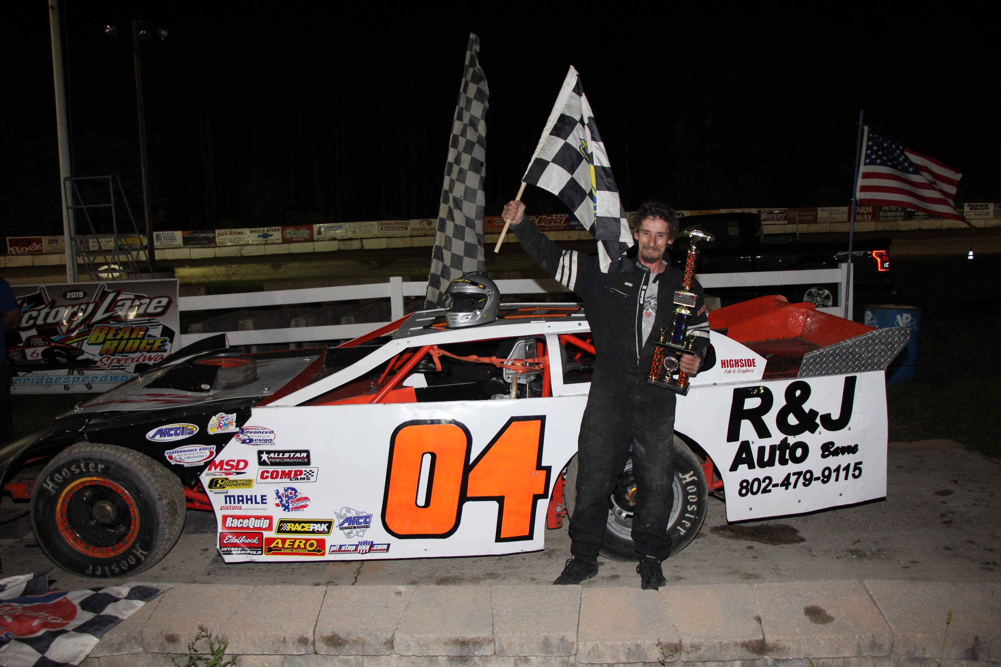 Josh Harrington wins in the Wells River Chevrolet DIRTcar Sportsman Coupes, Jordan Fornwalt gets win #6 in the Sabil & Sons DIRTcar Sportsman Modifieds