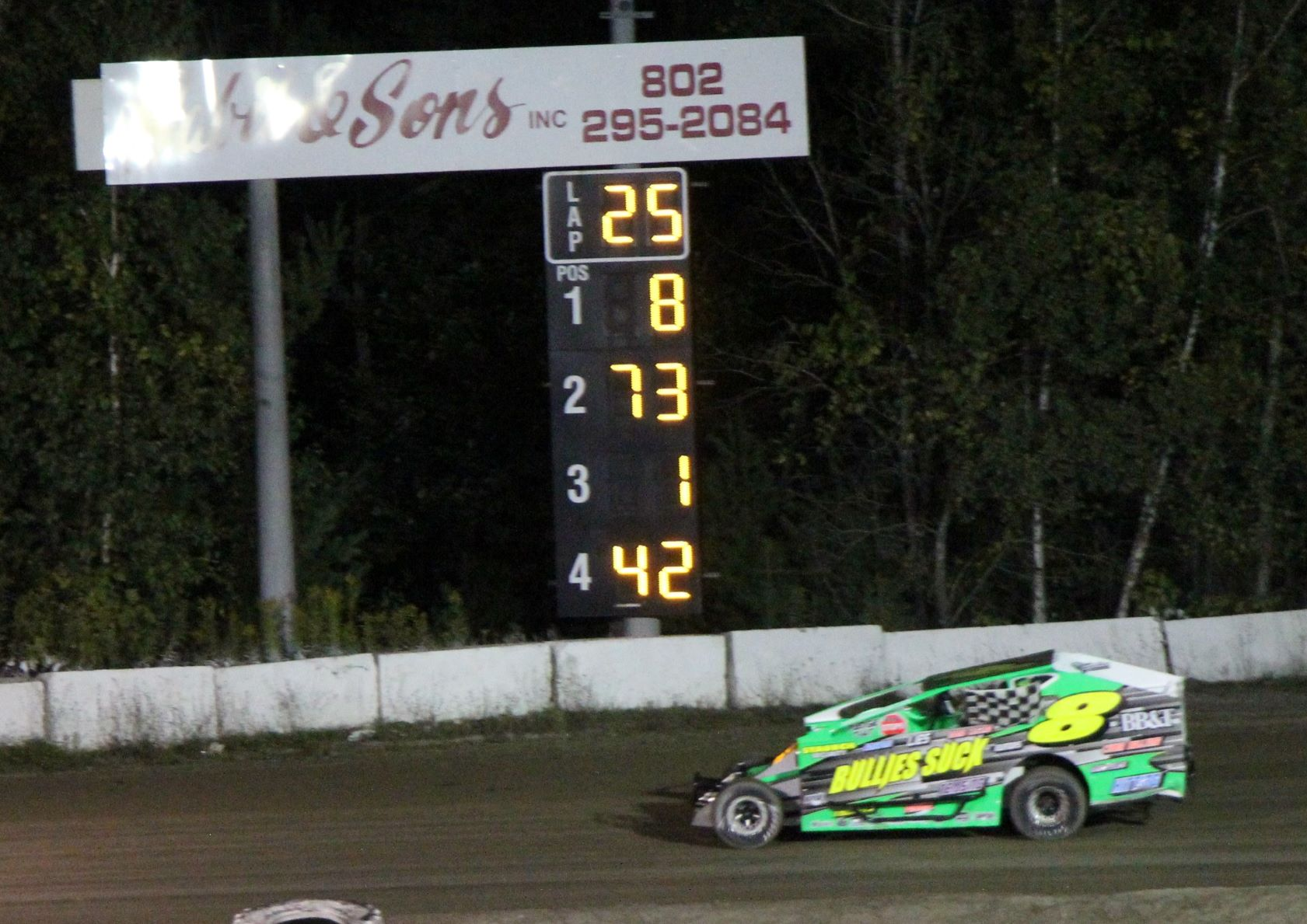 Stephen Lary gets his first win and Jordan Fornwalt crowned the champ in the Sabil & Sons DIRTcar Sportsman Modifieds